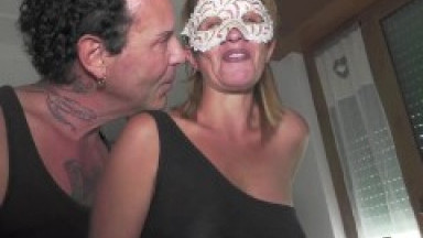 Renzo and Lucia swinger couple perform with Alex Magni and Roxana