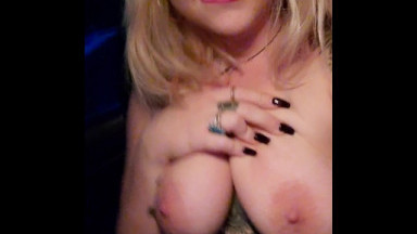 Tattooed Babe Plays With Herself and Begs Friend To Fuck Her in Her Car